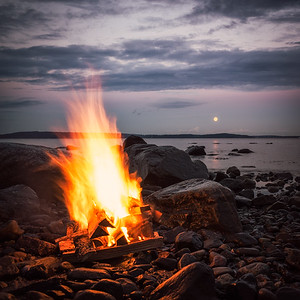 Fire at Full Moon