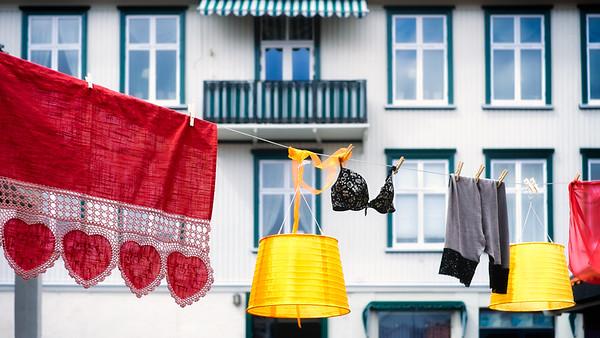 Someone's beautiful laundry