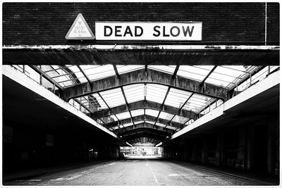 Dead slow on the East Poultry avenue