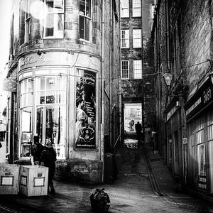 Fleshmarket Close - Edinburgh