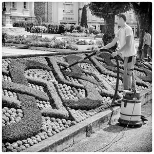 French gardening