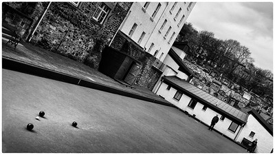 Lawn bowls in Edinburgh