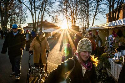 Julemarked på Karljohansvern