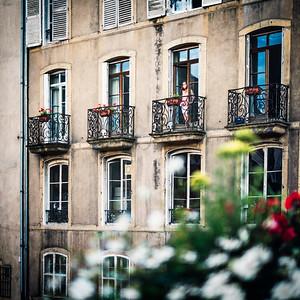 Balcons à Metz