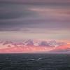 Sunset over Sørkapp Land