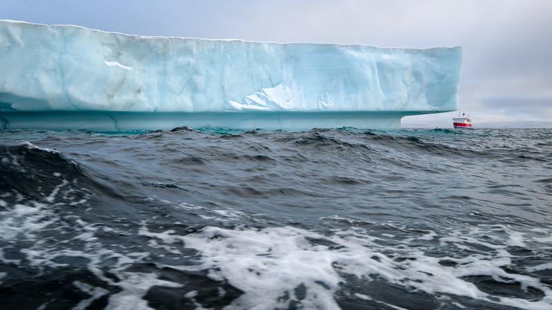 Rounding the iceberg