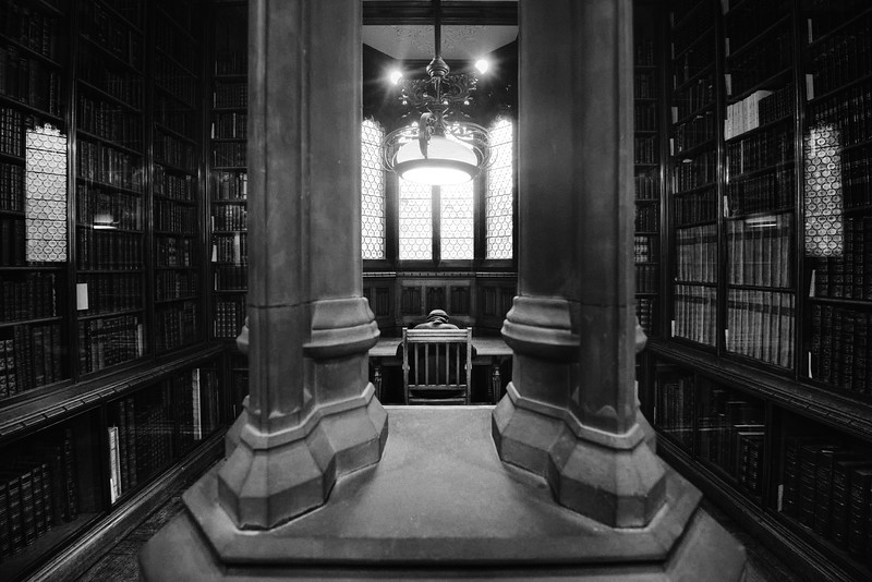 At the John Rylands Library