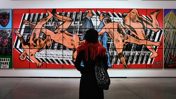 Looking at Gilbert & George naked flats