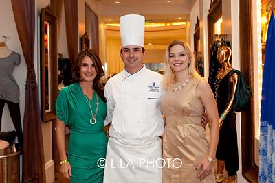 Liz Belkin, Chef Ryan Artim, JoAnna Ballarini