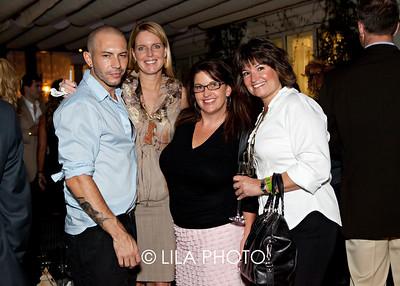Lorenzo Martone (Salon Creative Director), Kathleen Emmett, Jennifer Finnell, Cheryl Crowley
