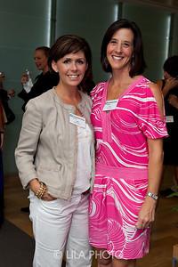 L to R:  Amy Quattlebaum and Liz DeWoody.