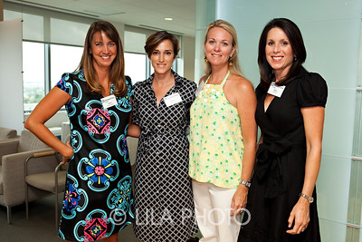 L to R:  Jackie Breckenridge, Kristy Pressly, Kathleen Ashley, and Hollie Elhilow.