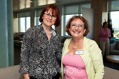 L to R:  Susan Litwinka and Janet Cole.