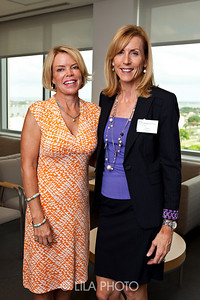 L to R:  Mieke van Waveren and Carey O'Donnell.