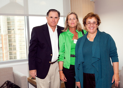 Don Novell, Joan Novell, Dr. Claudia Mason