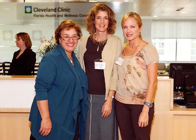 Dr. Claudia Mason, Janie Fogt, Jennifer McGrath