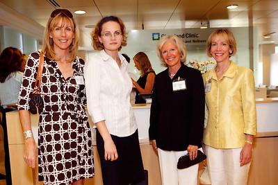 Carey O'Donnell, Dr. Elena Dyer, Lisa Carney, Jocelyn White