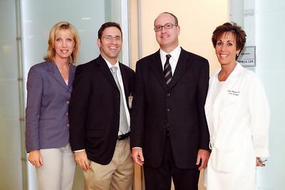 Jill Burgess, Dr. William Gans, Dr. Darryl Miller, Nurse Manager Lauire Millman