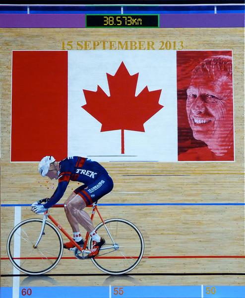 Chris Wilberg - Veteran Athletes World Hour Record Holder 2013