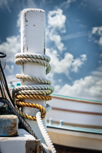 Boat Ramp Post