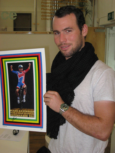 The Wait is Over - Mark Cavendish World Champion 2011