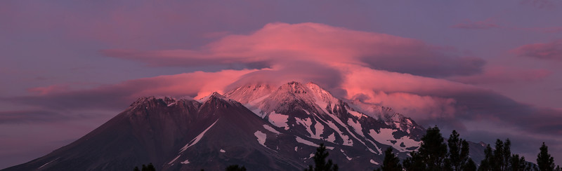 Mount Shasta Panorama