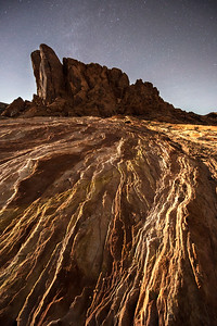 Moonlight in the Valley of Fire