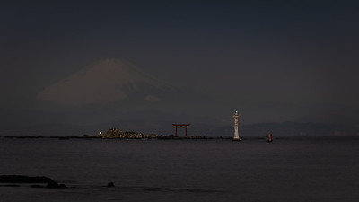Fuji Before Sunrise