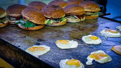 Egg on a Burger