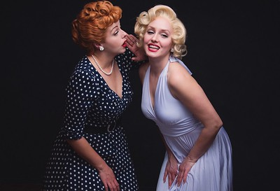 We are performers and impersonators based in Los Angeles, CA  with the Laughter of Lucy, the Glamour of Marilyn, and so much more…
