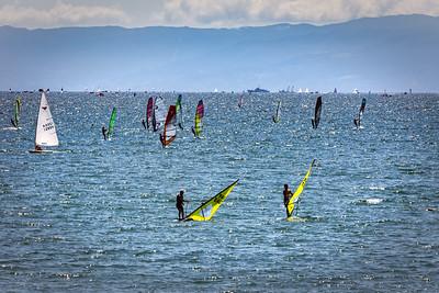 Windsurfing Sagami Bay
