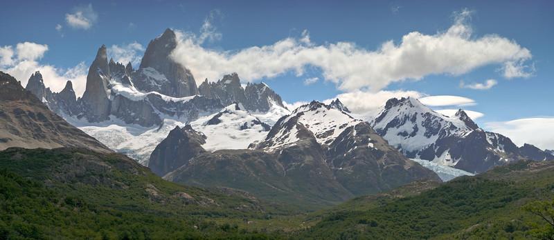 Parque Nacional Los Glaciares, mount Fitz Roy, 3405m