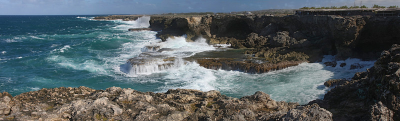 Barbados, Animal Flower Bay, northernmost point of the island
