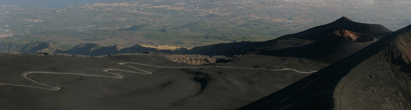 Long way to the crater edge of Etna