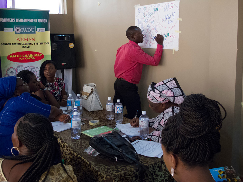 Presenting GALS Experience from FADU in the cocoa value chain