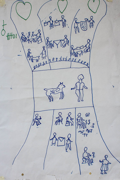 CEDAW Challenge Action Tree for Livestock - men