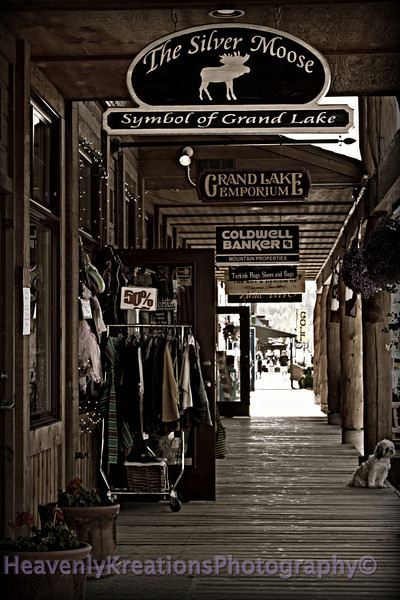 Grand Lake Boardwalk