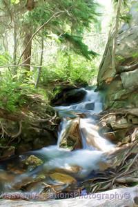 Shimmering River