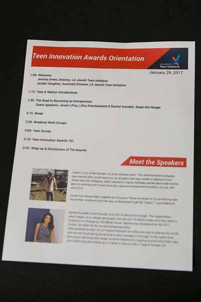 Teen Innovation 1-29-17