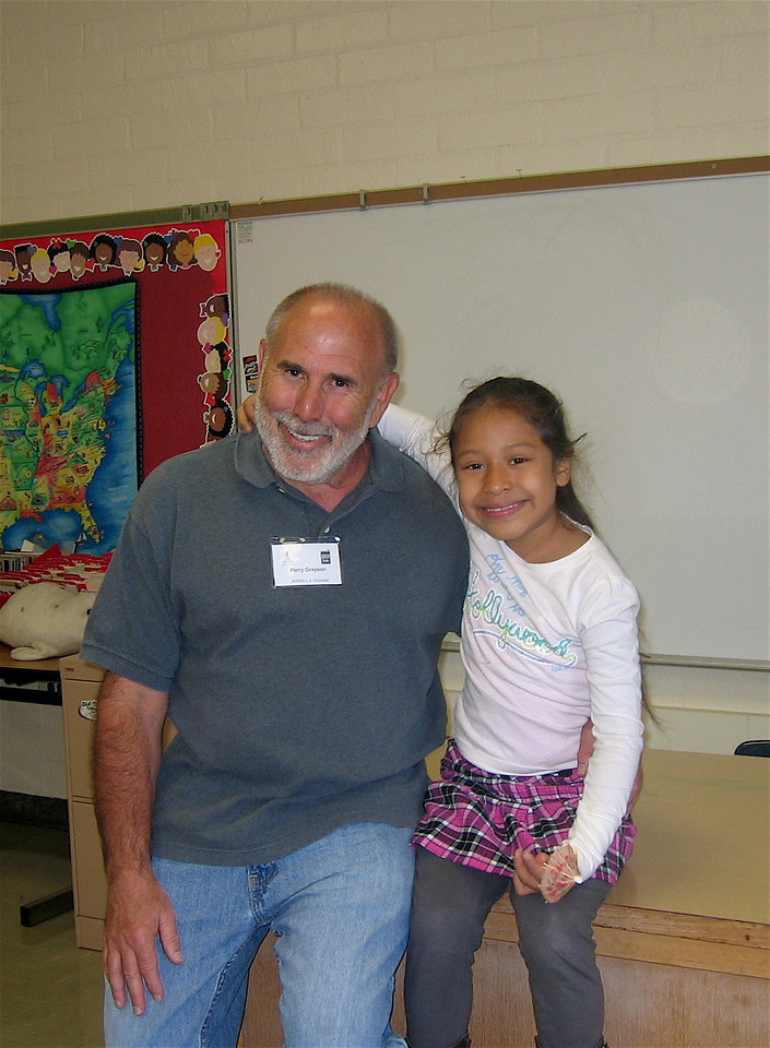 KOREH L.A. volunteer Perry G. and first grader Jessica M. first started reading together in 2007