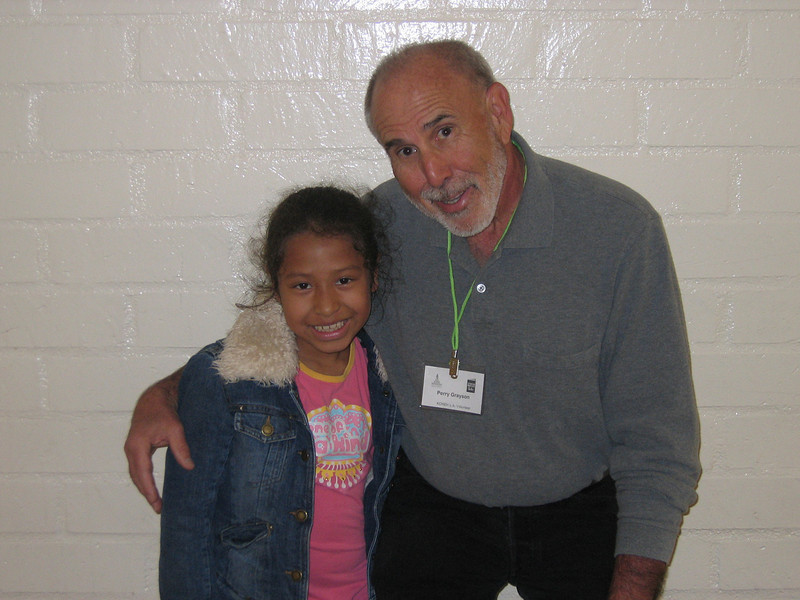 KOREH L.A. volunteer Perry G. continued to work with Jessica M. into the second grade at Westminster Elementary.