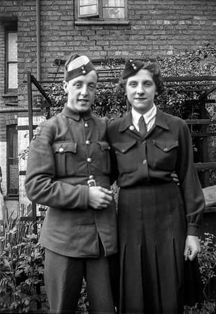 Doug & Doris, 1944?