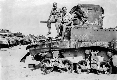 Doug at El Alamein, 1946