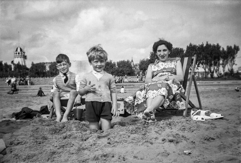 Skegness Beach, 1955