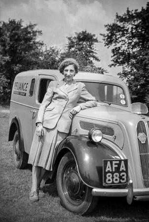 Ford Thames 8 Van, 1954