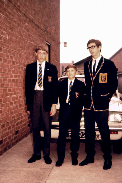 First day of term, September 1969