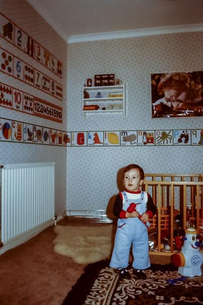 Dave, Nursery at Ponteland, 1980