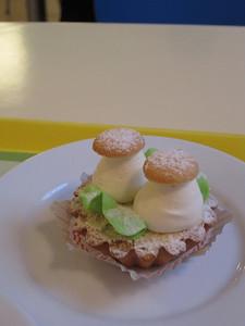 mushroom dessert.  looked good but didn't taste good :)