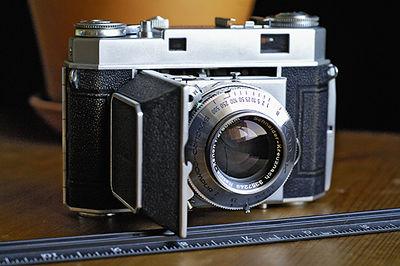 1950's Kodak Retina IIa Folding Rangefinder Camera