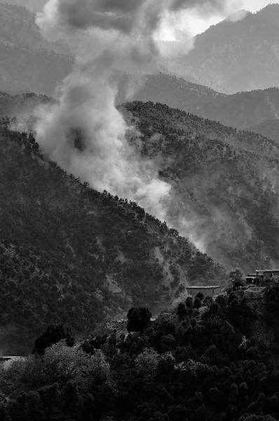 October - November, 2009, Korengal Valley, Afghanistan